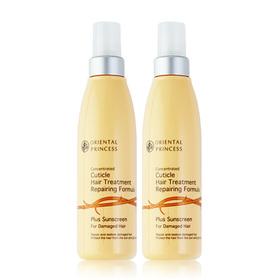 แพ็คคู่ Oriental Princess Concentrated Cuticle Hair Treatment Plus Sunscreen For Damaged Hair (125ml x 2)