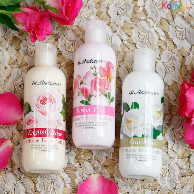 St. Andrews Sweet Pea Perfume Body Lotion 250ml_1