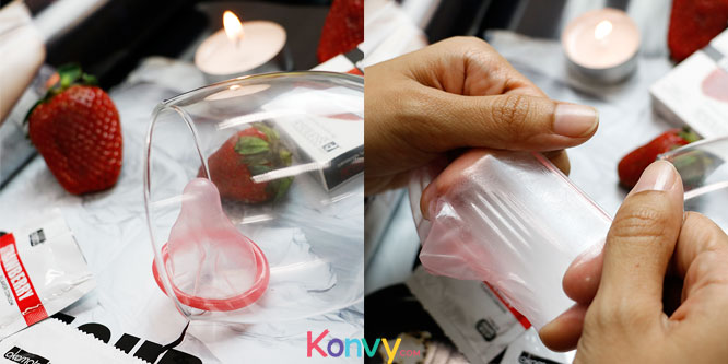 Okamoto Strawberry Flavor Condom 53mm (2pcsx3boxes)_4