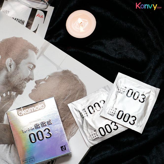 Okamoto Zero Zero Three Condom 52mm (2pcsx3box)_1
