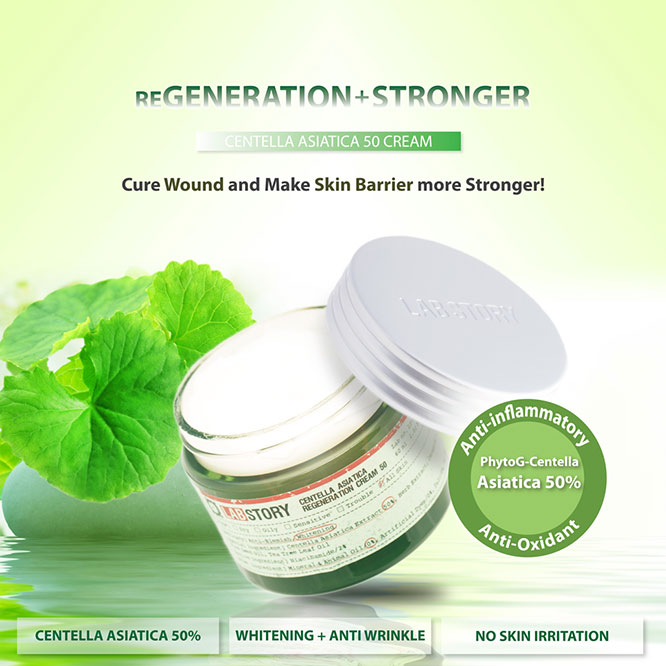 Labstory Centella Asiatica Regeneration Cream 50 60ml_1