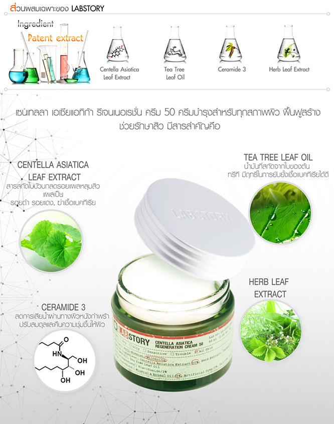 Labstory Centella Asiatica Regeneration Cream 50 60ml_2