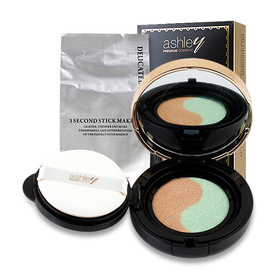 Ashley Double Color Sense Of Water Isolation BB Cushion 15g #01