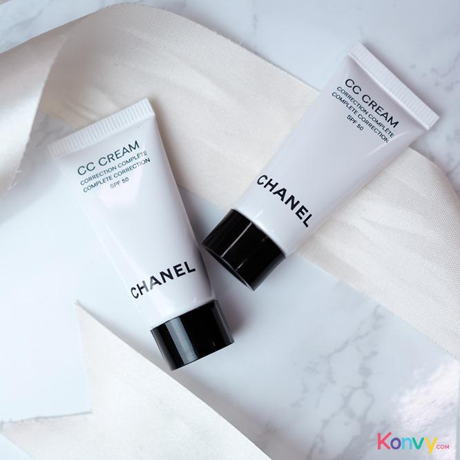 แพ็คคู่ Chanel Complete Correction CC Cream SPF50 #10 Beige (5mlX2pcs)_1