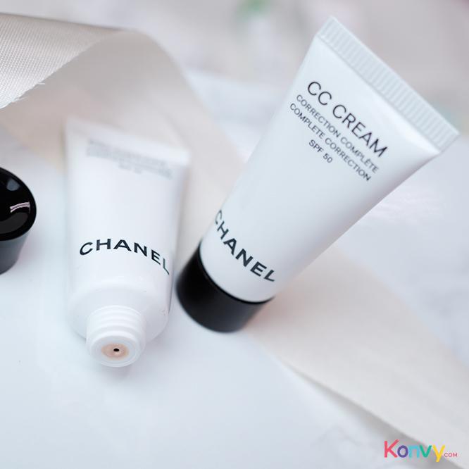 แพ็คคู่ Chanel Complete Correction CC Cream SPF50 #10 Beige (5mlX2pcs)_2