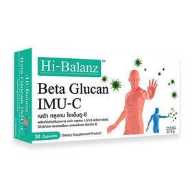 Hi-Balanz Beta Glucan IMU-C 30capsules