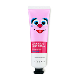 It's Skin Cookie And Hand Cream 30g #02 Strawberry Special Edition