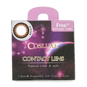Cosluxe Contact Lens 1 Month -4.0 #Jupiter (Red Brown)