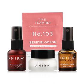 Amira The Starter Kit Set 4 Items (Agan Oil 100% 10ml + Agan Oil 70% 10ml + Argan Milk 5g +Clay Mask)
