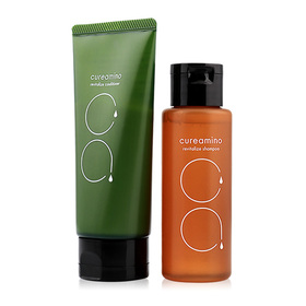CureAmino Revitalize Mini Set (Shampoo 80ml+Conditioner 80g)