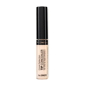 The Saem Cover Perfection Tip Concealer 6.5g #01 Clear Beige