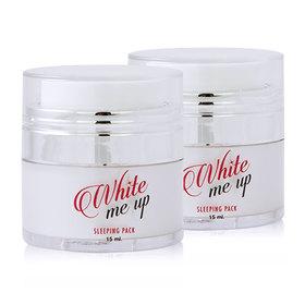 ซื้อ 1 แถม 1 Malissa Kiss White Me Up Sleeping Pack (15mlx2)