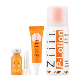 Ziiit Acne Set 3 Items (P-Lotion 50g + Quix Zuper Strength Serum 3g + Away Zuper Strength Acne Cream 4g)