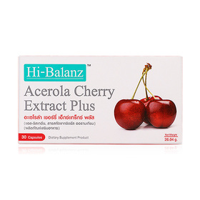 Hi-Balanz Acerola Cherry Extract Plus 30 Capsules