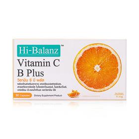 Hi-Balanz Vitamin C B Plus 30 Capsules