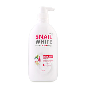Snailwhite Cream Body Wash Natural White 500ml