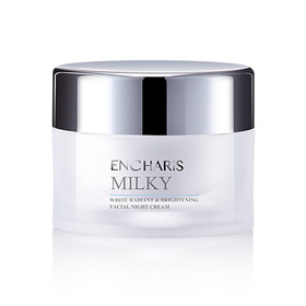Encharis Milky White Radiant & Brightening Facial Night Cream 50g
