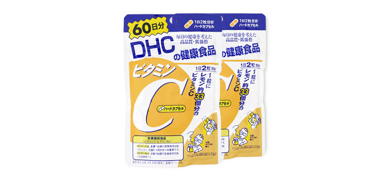 แพ็คคู่ DHC-Supplement Vitamin C 60 Days ( 60Days x 2)