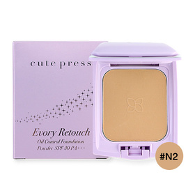 Cute Press Evory Retouch Oil Control Foundation Powder SPF 30 PA+++ #N2
