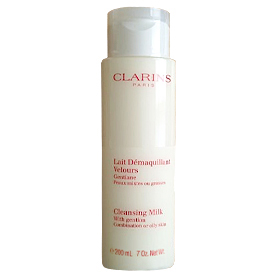 Clarins  Cleansing Milk with Gentian 200ml
