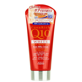 Kose Coenrich Q10 White Deep Moisture Body Milky Cream 160g(Red)