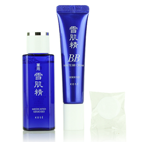 Set Kose Sekkisei White BB Cream#1 & Kose Sekkisei Lotion