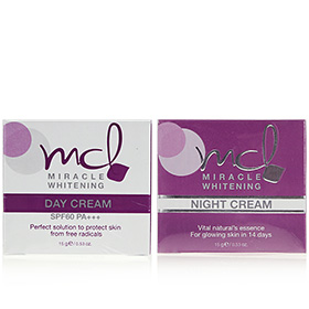 MCL Miracle Whitening Night & Day Cream