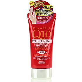 Kose Coenrich Q10 Whitening Hand&Finger Deep Moisture 80g(Red)