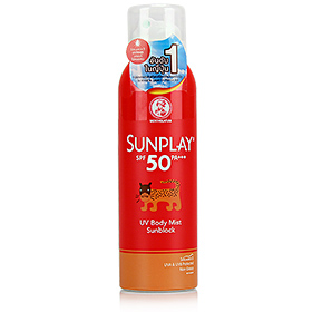 Mentholatum Sunplay UV Body Mist SPF50 PA+++  150ml