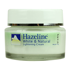 Hazeline White & Natural Lightening Cream 50g