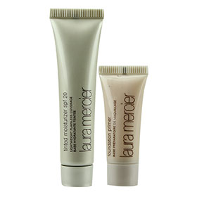 Set Laura Mercier Tinted Moisturizer SPF20 14.7ml & Foundation Primer 7ml