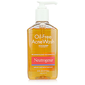 Neutrogena Oil-Free Acne Wash #1 Dermatologist Recommended 177ml