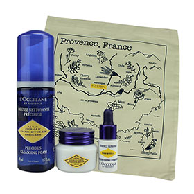 L'Occitane Brightening Set 3 Items with Free Bag