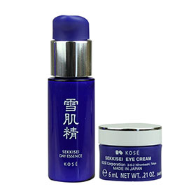 Set Kose Sekkisei Eye Cream & Day Essence (6ml+20ml)