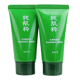 แพ็คคู่ Kose Junkisui Foaming Wash 30ml