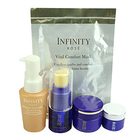 Kose Sekkisei & Infinity Set 5 Items(with mask)