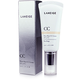 Laneige Water Base CC Cream SPF36PA++ 40ml #Pure Beige