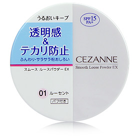 Cezanne Smooth Loose Powder EX #01
