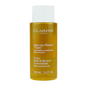 Clarins Tonic Bath & Shower Concentrate With Essential Oils 100ml