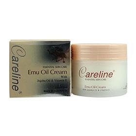Careline Emu Oil Cream with Jojoba Oil & Vitamin E 100ml