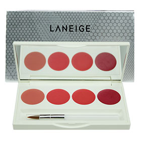 Laneige Silk Intense Lipstick 4 Color Lip Palette