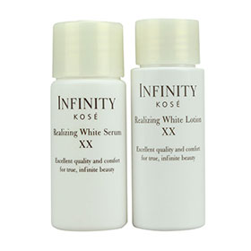 Set Kose Infinity Realizing White Serum XX & Lotion XX (30ml×2)