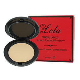 Lola Mineral Express Pressed Powder #Amber 12g