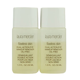 แพ็คคู่ Laura Mercier Flawless Skin Dual-Action Eye Makeup Remover Oil-Free (30ml×2)