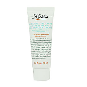 Kiehl's Superbly Efficient Antiperspirant & Deodorant Cream 75ml
