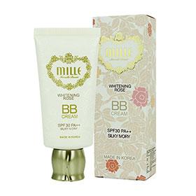 Mille Whitening Rose BB Cream SPF30PA++ 30g #1Silky Ivory