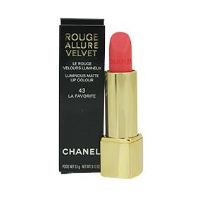 Chanel Rouge Allure Velvet Luminous Matte Lip Colour #43 LA FAVORITE
