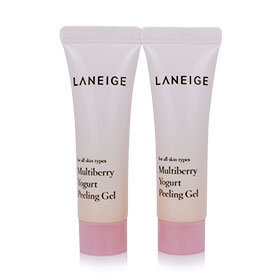 แพ็คคู่ Laneige Multiberry Yogurt Peeling Gel (10ml x2)