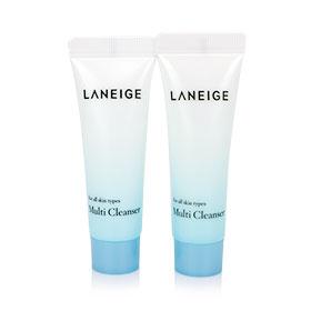 แพ็คคู่ Laneige Multi Cleanser (10ml x2)