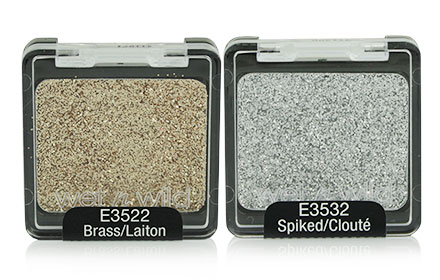 แพ็คคู่ Wet n Wild Color Icon Glitter 2 Colors #E3522 Brass & #E3532 Spiked